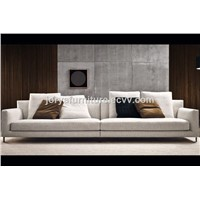 Modern Three-Seat Sofa High Quality Fabric Leisure Sofa Couch Sofa Corner Sofa