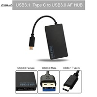 JoyNano USB Type-C to 4-Port USB 3.0 Hub Sync & Charging