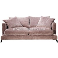 Modern Living Room Two-Seat Sofa High Quality Fabric Sofa Leisure Sofa Counch Sofa