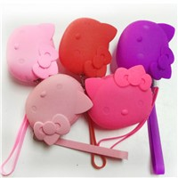Silicone coin bag animal-shaped wallets coin purses