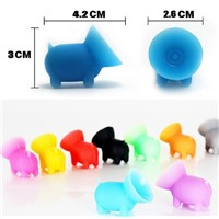 Silicone mobile phone holder cover cellphone stand