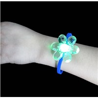 Flowers fashion LED lighting Silicone watch wrist watch