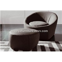 Single Seat Sofa Fabric Leisure Sofa Chair Personal Sofa Chair Leather Office Sofa