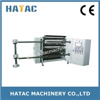 High Speed Kraft Paper Slitting Rewinding Machine