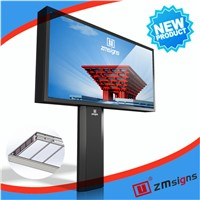 ZM-M005 Mega scroller / Solar Billboard outdoor/billboard advertising light box