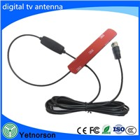 Factory Supply HDTV Antenna Adhesive 3M High Gain DVB-T DVB-T2 TV Antenna