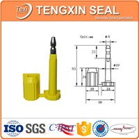 Shipping Container ISO Approved Yellow Anti spin ABS Plastic Bolt Seal