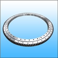 Single row ball slewing bearing with external gear