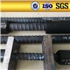 left hand high strength screw thread steel bars with domed plate and nut