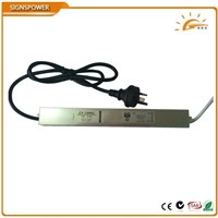 12V/24V DC 45W waterproof led power supply switch led driver