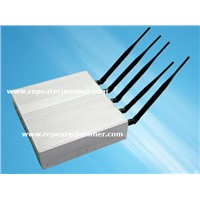 5 Bands Cell Phone Jammer/Signal Jammer , Mobile Phone Jammer Blocker Isolator Supplier In China