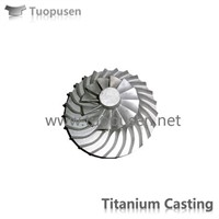 TPS Titanium Casting Parts Impeller