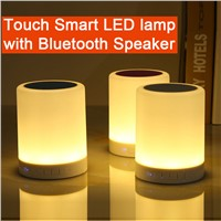 SP119 Low Price Touch Sensitive Smart Led Lamp Bluetooth Speaker for Computer, TF card