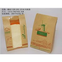 window kraft paper bag for sale