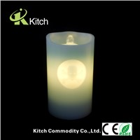 Home decoration led flameless candle fountain