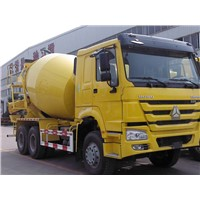 8CBM HOWO Concrete Mixer Trucks 6x4 Cement Mixer Truck