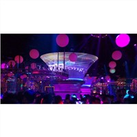 DGX Horn-shaped LED Screen for Night Clubs P6, Customized Designs Available