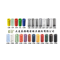 Die Spring  Manufacturer Supply DIN German standard extra heavy duty die springs