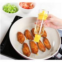 Nice Design Heat Resistant Kitchen Silicone BBQ Oil Brush With Holder Set Of Baking Tools