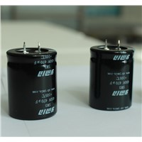 Power Inverter Capacitor Snap In Electrolytic Capacitor for Solar Photovoltaic Power Inverter