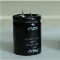 Standard Snap in Electrolytic Capacitor for Battery Vehicle Charing Poles E- Car Charging Station