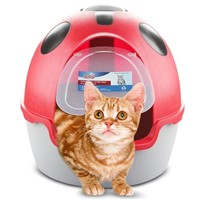 YL047 Cat Litter Box with Scoop Big Space Cat Litter Tray Pet Products