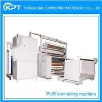 apperel material shoes materials pur fabric laminating machine