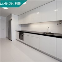 18mm Playwood waterproof white lacquer kitchen cabinets