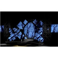 Creative customized LED panel wall
