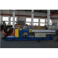 High capacity 600rpm twin screw plastic recycling extruder for pp granules