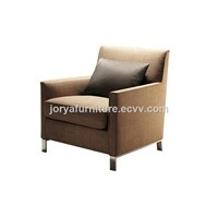 Mordern Style Leather Sofa Chair High Quality Fabric Sofa Single-Seat Sofa