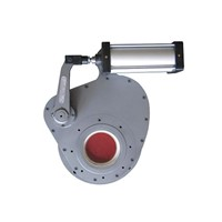 Pneumatic Ceramic Rotary Gate Valve