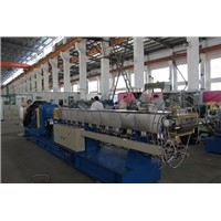 600rpm corotating twin screw extruder plastic pallets making machine