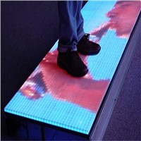 P8.928 LED dance floor, aluminum cabinet, anti-skiding