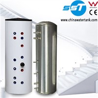 solar square hot water tank
