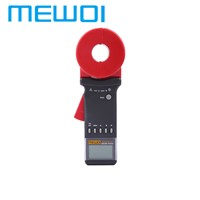 MEWOI3100+-0.01-1200ohm clamp earth ground resistance meter/tester