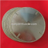 electroplated diamond saw blade, cut off dicing balde for stone, marble, granite cutting