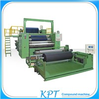 three ply fabric to foam to film lamination machine for sales