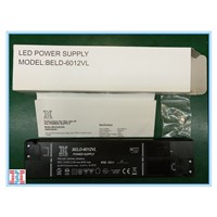 60W12V Constant Voltage LED Power Supply Manufacturer in China