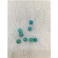 Semi Precious American Blue Turquoise Beads 8mm natural round gemstone