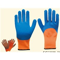 Latex Foam Gloves -Acrylic Shell Napping Liner