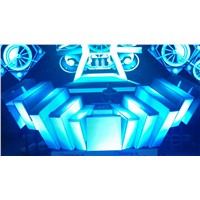 Magic led dj box led display indoor P5