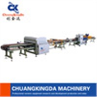 CNC Stair Step Tiles Cutting & Squaring Machine Production line