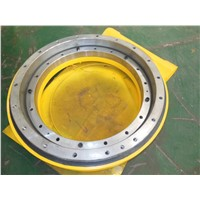 heavy duty dual  worm  slewing drive for machinery