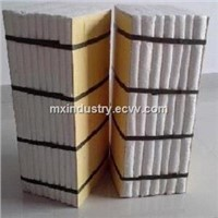 300*300*300mm ceramic fiber refractory module for thermal insulation