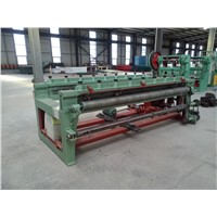 Numerical control welding fence row machine