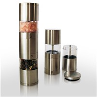 stainless steel salt&pepper mill