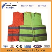 2016New Fashion Hi-VI Reflective Safety Vest with Flu Colors