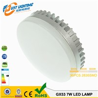 8W Gx53 Ra80 warm white gx53 led lampen