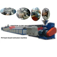 High Efficiency PS Foam Board Plastic Extrusion Machine